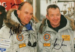 1999  BREITLING  ORBITER 3    PICCARD  JONES  AUTOGRAPH FLIGHT  CARD - Personaggi Storici