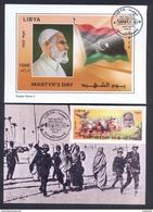 Libya/Libye  2015 - Maxi-card  - Martyr´s Day - Omar Mokhtar - MNH** Excellent Quality - Libyen