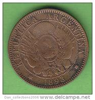 ARGENTINE   2  CENTAVOS  ANNEES 1893    LOT100371 - Argentine