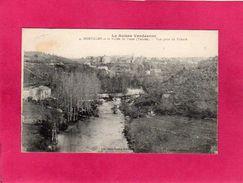 85 VENDEE, MORTAGNE Et La Vallée Du Louet, Vue Prise Du Prieuré, La Suisse Vendéenne, 1918, (Jehly-Poupin) - Mortagne Sur Sevre