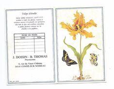 Petit CALENDRIER 1992...Pharmaciens J. DOSSIN - B. THOMAS, Rue Du Vieux Château à CONDE Sur NOIREAU (14) - Calendarios