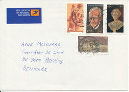 South Africa RSA Air Mail Cover Sent To Denmark 21-3-1977 - South Africa (1961-...)
