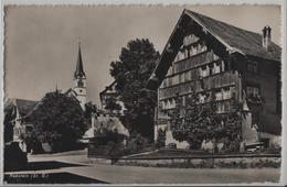 Rebstein - Dorfpartie - Photo: Wehrli - SG St. Gall