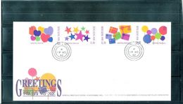 FDC Hong Kong - 1992 - Greetings - Complete Set - Hong Kong (...-1997)