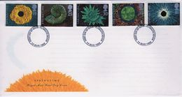 GB First Day Cover To Celebrate Springtime 1995 . - FDC