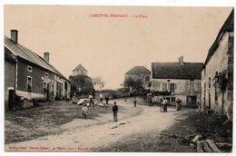 La Motte Ternant : La Place  (Edit. Daudet-Leclerc - A. Duciel Succ., Saulieu) - Autres Communes