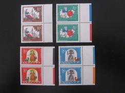 BRD Nr. 538 - 541 Paare Mit Rand Postfrisch** (B38) - BRD