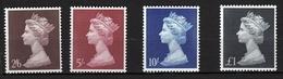 N°  487 à 490 Neufs - 1952-.... (Elizabeth II)