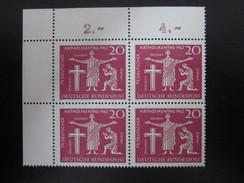 BRD Nr. 381 Viererblock Eckrand Postfrisch** (B38) - BRD