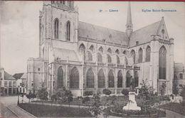 Lier Lierre Eglise Saint Gommaire Sint Gummarus Kerk Gummaruskerk 1910 (in Zeer Goede Staat) - Lier
