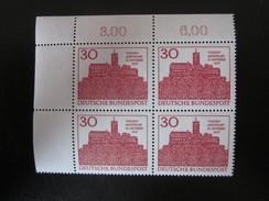 BRD Nr. 290 Viererblock Eckrand Postfrisch** (B39) - BRD