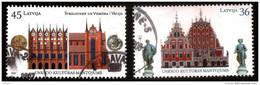JOINT ISUSE Latvia - Deutsland Lettland , Lettonia  2007  UNESCO HANZA CITY - VERY OLD HOME  Used Full Set (0) - Latvia