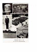 Carte Photo Militaria - Souvenir Du C.I.M. Au FORT De MONTMORENCY - Soldats Sport Exercices Ballon Fusil - Kazerne