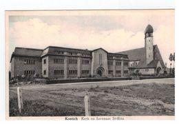 Kontich  Kerk En Juvenaat St-Rita - Kontich