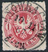 Jnowraclaw 10/11 67 Auf 1 Sgr. Rot - Preussen Nr. 16 - Kabinett - Prusse