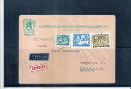 Langue - Esperanto - Lettre Express De Hongrie Vers La Suisse - 1962 (à Voir) - Esperanto