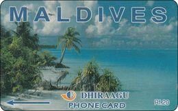 Malediven Phonecard   Beach - Maldives