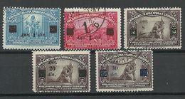 KROATIEN Hrvatska 1922/24 = 5 Values From Michel 162 - 168 O - Kroatië