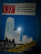 1958 SCIENCE Et VIE N° 489 : LES VINS FRANCAIS ---> Un Verre De Vin Explique La Crise; Etc - Science