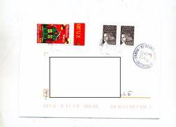 Lettre Cachet Reims Sur Voeux - Storia Postale