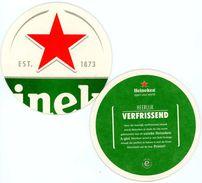 Heineken. Est. 1873. Open Your World. Heerlijk Verfrissend. Voor De Smaak Wordt Heineken Al Sinds De 19e Eeuw Gebrouwen - Bierviltjes
