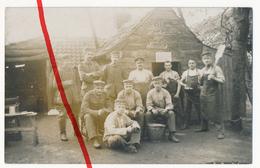 Original Foto - 1916 - Feldküche Im Ersten Weltkrieg - Bei Beernem In Belgien - Beernem
