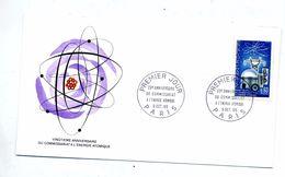 Lettre Fdc Paris Energie Atomique - FDC