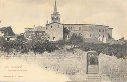 St Saint-Donat (Drôme) - Clocher Et Mairie - Collection P.P. Valence - Carte Dos Simple, Non Circulée - Francia
