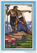 MARCOPHILIE- Carte Entier Postal-5c-a Voyagé En 1913  Illustré- Bächuger--fête Nationale -1913 Contre La Tuberculose - Interi Postali