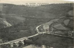 Dep - 23 - BUSSEAU D'AHUN Vue Prise Du Pont - Auzances