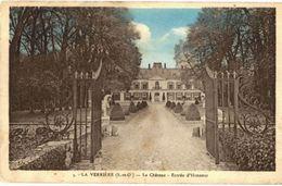 CPA N°3043 - LA VERRIERE - LE CHATEAU - ENTREE D' HONNEUR - La Verriere