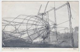 Zeppelin Luftschiff - Das Steuer - Dirigeables
