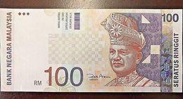 C) MALAYSIA BANK NOTE 100 RINGGITS UNC ND 1998 - Malaysia
