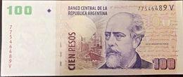 C) ARGENTINA BANK NOTE 100 PESOS UNC ND(2011) JULIO ARGENTINO ROCA - Argentina