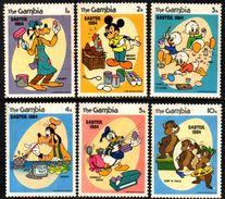 04693 Gambia 501/06 Personagens Da Disney N - Gambia (1965-...)