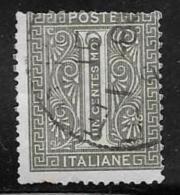 Italy, Scott # 24 Used Numeral, 1863, Thin - Used