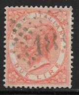 Italy, Scott # 33 Used Victor Emmanuel Ll, 1863, Very Nice No Faults - 1861-78 Vittorio Emanuele II