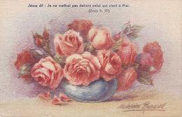 Ph-CPA Fantaisie (France) Jésus Dit : Je Ne Mettrai Pas Dehors Celui Qui Vient à Moi, Madeleine Renaud - Autres Illustrateurs