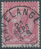 N° 46, Superbe Obl Centrale 'Havelange' - 1884-1891 Léopold II