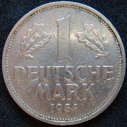 Germany 1 Mark 1954 G - [ 7] 1949-… : RFA - Rép. Féd. D'Allemagne
