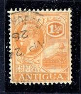 George V  I½ D. Dull Orange  SG 67  Used - Antigua & Barbuda (...-1981)