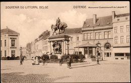 Oostende : Monument Commémoratif De Léopold Ier - Oostende
