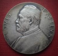 Médaille. Louis Pasteur. 1888. O. Roty. - Francia