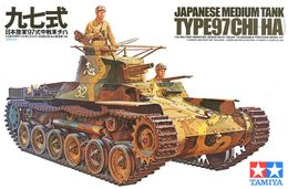 Chi Ha Type 97 1/35 ( Tamiya ) - Military Vehicles