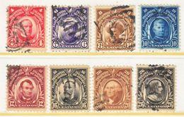 U.S. PHILIPPINES  242-49  Perf 12   (o)  Dbl.  Line Wmk. 191  1906 Issue - Philippines