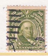 U.S. PHILIPPINES  250  Perf 12   (o)  Dbl.  Line Wmk. 191  1906 Issue - Philippines