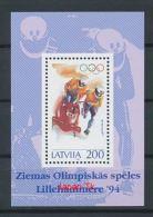 LETTLAND Mi.Nr. Block 4 Zweierbob -MNH - Latvia