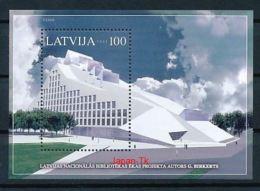 LETTLAND Mi.Nr. Block 19 Neue Nationalbibliothek -MNH - Latvia