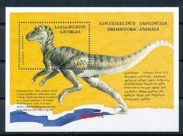 GEORGIEN Mi.Nr. Block 3 Prähistorische Tiere  -MNH - Georgien