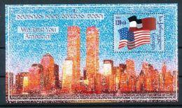 GEORGIEN Mi.Nr. Block 25 Solidarität Mit Den Vereinigten Staaten Von Amerika   -MNH - Georgien